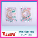 Material de película de BOPP de cinta adhesiva de embalaje de cartón el sellado