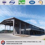 Edificio prefabricado de la estructura de acero para el aeropuerto