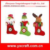 クリスマスの装飾(ZY14Y315-1-2-3)のクリスマス構成ギフトのソックスのフェルト袋のHaningのクリスマス項目