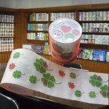 印刷されたトイレットペーパーのカスタマイズされたトイレットペーパータオル