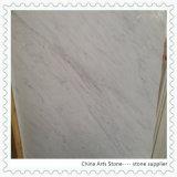 China Volkas mosaico de losa de mármol blanco