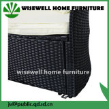 Ronda de vime vime mobiliário sofá com 4 banco (LXA-009)