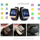 Montre de smartphone de Bluetooth des prix raisonnables avec l'appareil-photo de 2.0m (DZ09)