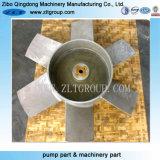 Turbine chimique centrifuge en bronze de pompe à eau avec peint