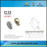 ステンレス鋼の柵のエンドキャップ(CO-3801)