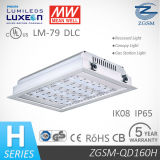 Ce CB Certificado 160W Philips Chips LED Luminaria de Gasolinera