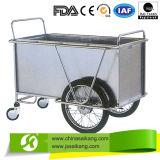 Нержавеющая сталь стационара для прачечного одевая вагонетку поставки (CE/FDA/ISO)
