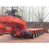 150ton 7 Lines14axis Hydraulic Modular Semitrailer con Gooseneck/Pesante-dovere Transport/Multi-Axle/He