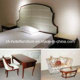 2018 Kingsize贅沢な中国の木のレストランのホテルの寝室の家具(GLB-70008)