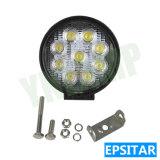 4X4 지프를 위한 4.5inch 27W 반점 또는 플러드 광속 LED 일 빛