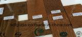 Patterned 청동색 유리 Nashiji, Diamond, Bamboo, Ripple 3 에 8mm