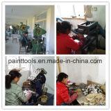 Pinceau avec le traitement en plastique en caoutchouc, brin mélangé