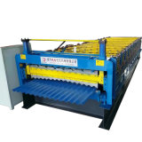 Cor personalizada galvanizada telhando a máquina com o preço barato