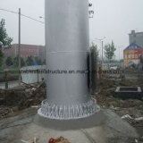 Publicidade Piscina Q235 Painel de aço com a coluna