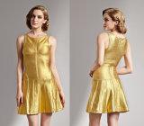 Платье с сексуальный безрукавный a - линия платье повязк повелительниц