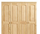 Pine solido Wood Wardrobe con Cheap Price