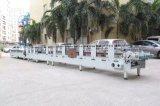 Automatischer quadratischer Kasten-Plastikkasten APET Belüftung-pp., der Maschine klebt