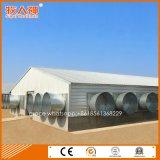デザインおよび一致の農機具が付いている軽い鋼鉄産業養鶏場の建物