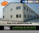 Edificio de la estructura de acero de la fuente de la fábrica de Wellcamp para el dormitorio