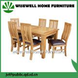 Table à manger en bois massif en chêne