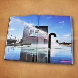 Grand livre de photographie de livre de livre À couverture dure d'impression professionnelle de livre