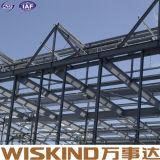 Material de construcción que enmarca de acero de la estructura del calibrador prefabricado de la luz