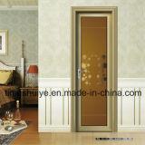 ألومنيوم مرحاض باب مع تصميم مختلفة وحجم مختلفة