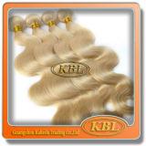 Extensions-Karosserien-Welle des blonden Haar-613# des brasilianischen Haares