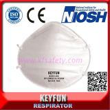 mascherina di polvere non tessuta attiva del fronte del carbonio del respiratore della particella di 3m