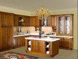 Timber Veneer Kitchen Cabinet