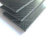 100% из углеродного волокна 1,5K/3K/6K/12K лист из углеродного волокна Custom из углеродного волокна с ЧПУ