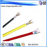 Nh-Kvvp2 ПВХ изоляцией и пламенно Cu ленту экранированного кабеля управления из негорючего материала