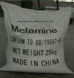 Industriële Melamine 99.8% van het Poeder van de Rang Witte Kristallijne