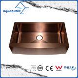 Rose gold single Bowl Stainless Steel manual larva Kitchen sink (ACS3021A1RG)
