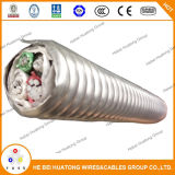 750-4 W/Lop cabo revestido de metal de alumínio