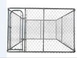 La Chine fournisseur Cheap maillon de chaîne en acier galvanisé chenil de chiens pour la vente