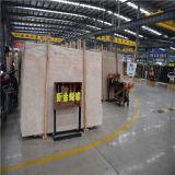 De aangepaste Beige Marmeren Tegel van de Plak voor Binnenhuisarchitectuur