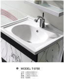 Salle de bains en aluminium armoire / espace douche cabinet d'aluminium de magnésium (T-9788)