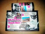 Kundenspezifisches Firmenzeichen-Drucken, das wasserdichte Gegenmatten-Schreibtisch-Auflage bekanntmacht