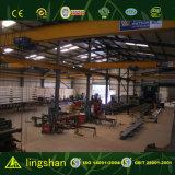 Construction moderne préfabriquée d'atelier/entrepôt