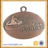旧式な亜鉛合金はダイカストのKartingのイベントメダルを