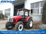 Trattore su grande scala del trattore agricolo con il motore diesel di 90HP Yto/trattore della rotella