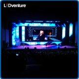 Alquiler video a todo color de interior para los acontecimientos, conferencia, partidos, reuniones de la pantalla del gigante LED