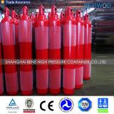 Ee.Uu./Punto 20L El cilindro de gas rellenable 37mn del cilindro de gas de oxígeno de acero sin costura