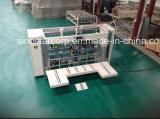 두 배 PCS 물결 모양 상자 바느질 기계