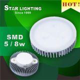 80lm/W 8W 6500k LED Gx53 Schrank-Licht