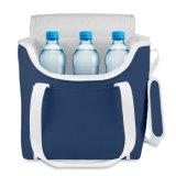 sac de refroidisseur du polyester 600d avec la garniture de PEVA avec le logo personnalisé