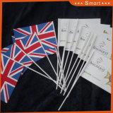 Верхний Класс высшего качества и быстрая доставка с другой стороны Union Jack размахивание флагами