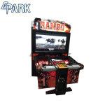 Ramboのタイプ硬貨によって作動させる撃つゲーム・マシン