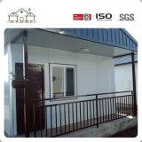 Fácil y rápidamente instalar la casa casera prefabricada de acero ligera